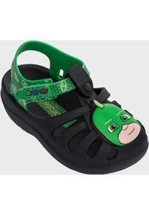 Sandália Infantil Heróis De Pijama Largatixo Grendene Kids 21803