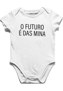 O Futuro É Das Mina - Body Infantil
