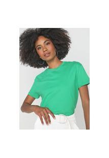 Camiseta Morena Rosa Lisa Verde