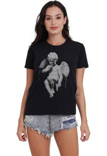 Camiseta Básica Armed Angel Preto - Kanui