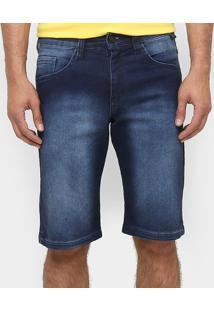 Bermuda Jeans Hd Round - Masculino
