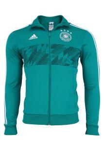 Jaqueta Alemanha 3S 2018 Adidas - Masculina - Verde 06a2587103538