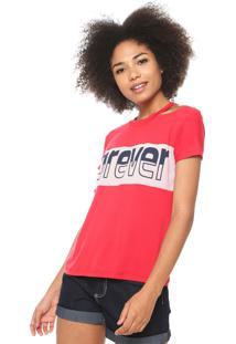 Camiseta Fiveblu Forever Vermelha