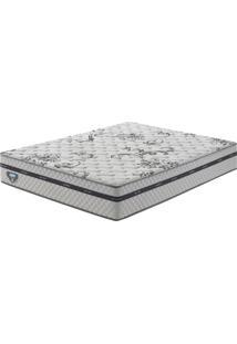 Colchão King Size Com Molas Superlastic Grand Support Ii Branco 193X203X25 - Ecoflex