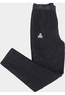 Calça Infantil Adidas Tiro Tango Masculina - Masculino-Preto+Branco