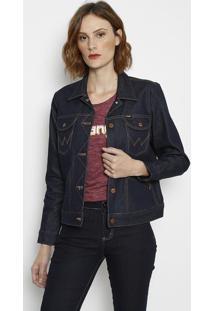 Jaqueta Jeans Retrã´- Azulwrangler