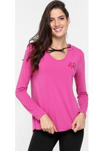Camiseta Diadora Flow-261172 M/L - Feminino