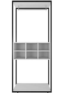 Guarda-Roupa Closet Modulado Manchester Branco