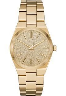 Relógio Analógico Michael Kors Channing Feminino - Mk66231Dn Dourado
