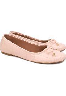 Sapatilha Trivalle Shoes Dia A Dia Rosê