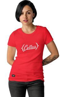 Camiseta Cellos Retro Premium Vermelho