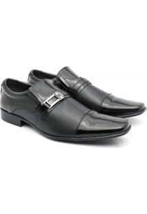 Sapato Social Venetto Classic Conforto - Masculino-Preto