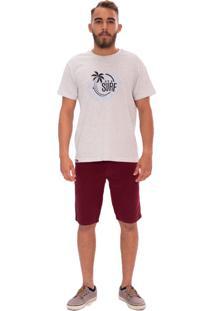 Bermuda Jeans Aee Surf Slim Vinho - Kanui