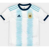995d984654f Camisa Argentina Infantil Home 19 20 S N° - Torcedor Adidas - Masculino