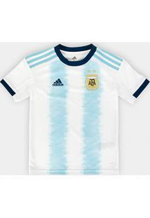 Camisa Seleção Argentina Infantil Home 19/20 S/N° Torcedor Adidas - Masculino