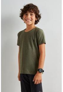 Camiseta Infantil Reserva Paris Inv Masculina - Masculino-Verde Escuro