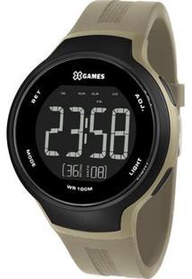 Relógio Digital Quartz Xmppd556Pxex- Verde Militar & Preorient