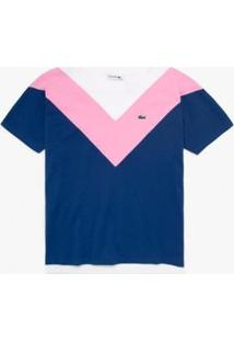 Camiseta Lacoste Relaxed Fit - Feminino