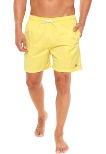 Short Catamaran Confort Liso Amarelo