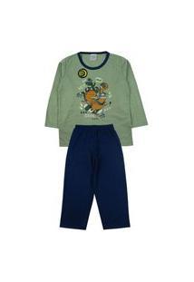 Conjunto Pijama Meninos Que Brilha No Escuro
