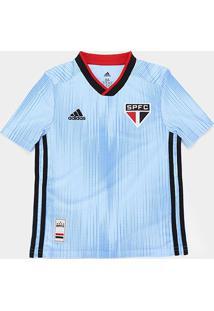 Camisa São Paulo Infantil Iii 19/20 S/Nº Torcedor Adidas - Masculino