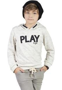 Casaco Infantil Bugbee Play Masculina - Masculino-Mescla