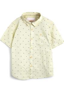 Camisa Milon Menino Estampa Amarela