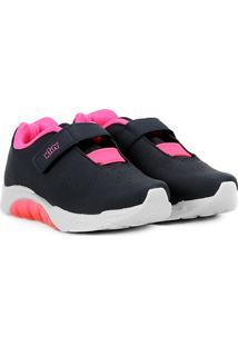 006e865b01c Tênis Infantil Kidy Velcro Elástico Feminino - Feminino