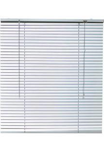 Persiana Royal Aluminio 25Mm 160X160 - Evolux - Prata