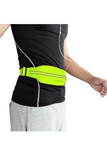 986fa91b6 Pochete Rock Bag Esportiva Impermeabilizável Fluorescente P Celulares Até 6  Polegadas (Verde)