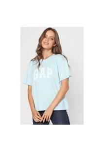 Camiseta Gap Logo Azul