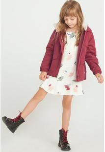 Vestido Infantil Em Tecido Estampado