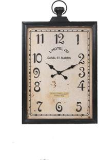 Relógio Decorativo De Parede Hotel