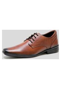 Sapato Social Ded Calçados Com Cadarço Café