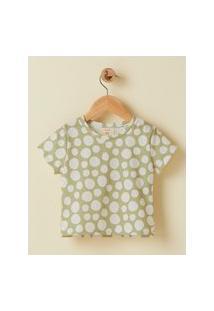Amaro Feminino Camiseta Infantil Estampada Full Print, Mini Fresh Poa