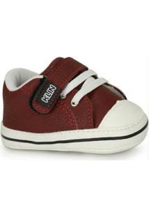 Sapato Infantil Klin Vinho Vinho