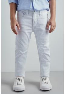 Calca Mini Tec Sempre Branca Reserva Mini Branco