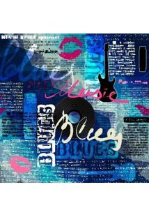 Papel De Parede Adesivo Blues (0,58M X 2,50M)