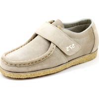 9f47ad0da Sapato Cacareco Confortável 575 Camurça Bege