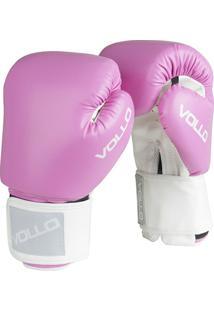 Luva De Boxe Muay Thai Combat Vollo - Unissex