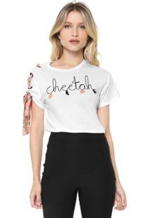 Camiseta Lez A Lez Cheetah Branca