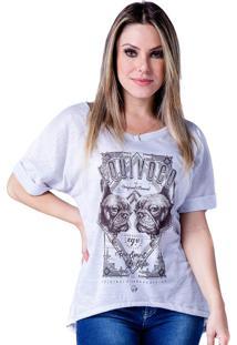 Camiseta Equivoco Mayara Cinza