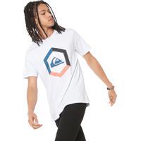 997e7cfaec195 Camiseta Branca Quiksilver masculina   Shoes4you