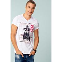 645aac493 Camiseta Enfim Manga Curta masculina