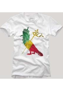 Camiseta Pica Pau Jamaica Branco