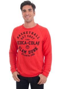 Casaco Coca-Cola Jeans Vermelho