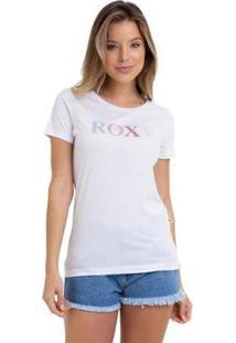 Camiseta Rx M/C Four Side Feminina - Feminino-Branco