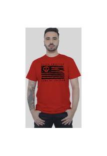 Camiseta Bleed American Land Of Freedom Vermelha