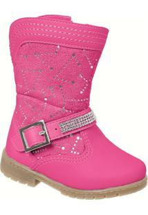 Bota Infantil Feminino Mimopé - Feminino-Pink