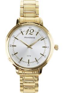 Relógio Mondaine Analógico Feminino 76504Lpmvde1 - Dourado